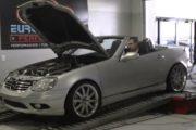Mercedes SLK AMG Dyno session